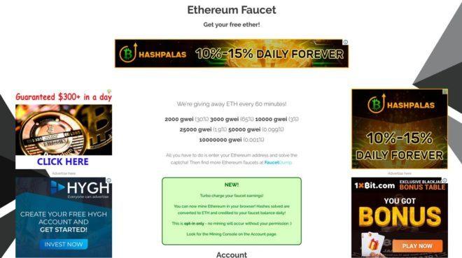 ethereum faucet