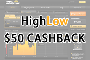 highlow bonus