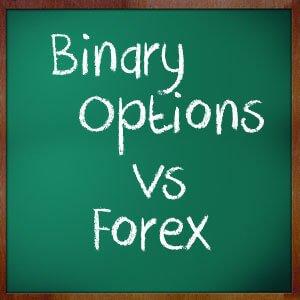 Forex vs binary options