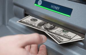 Money withdrawal fraud