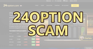 binary options trading platform scams
