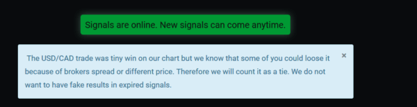The real signals message