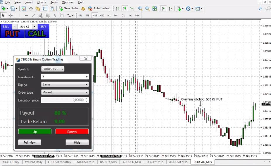 Auto trade binary options mt4 plugin criket betting tips free