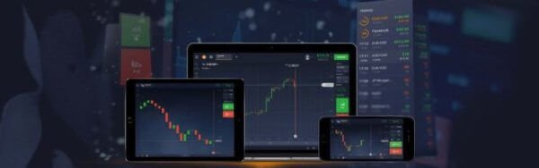 IQ Option mobile app platform