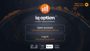 IQ Option mobila app