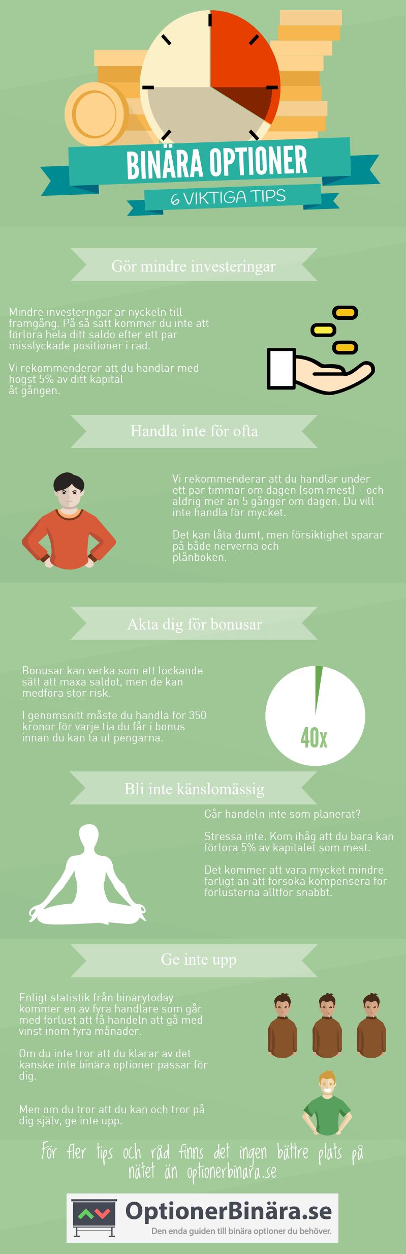 6 viktiga tips for handeln